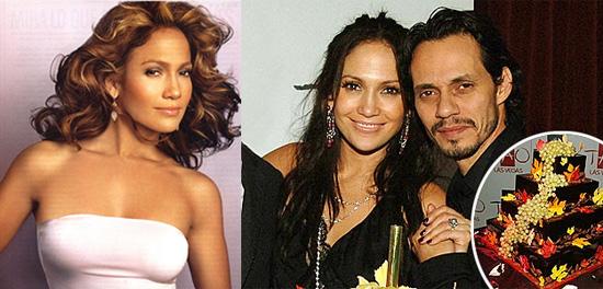 Jennifer Lopez Celebrates Marc's Life