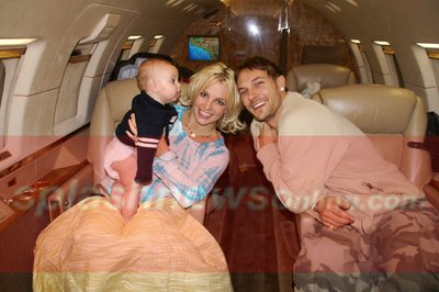 Britney's Happy Family