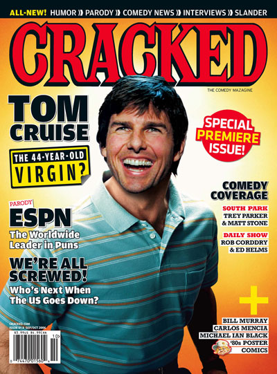 Paramount Dumps Tom Cruise