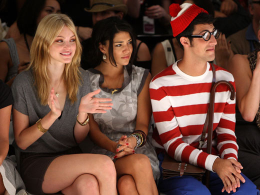Front Row Jessica Stam Has a Backstage Setback at Charlotte Ronson