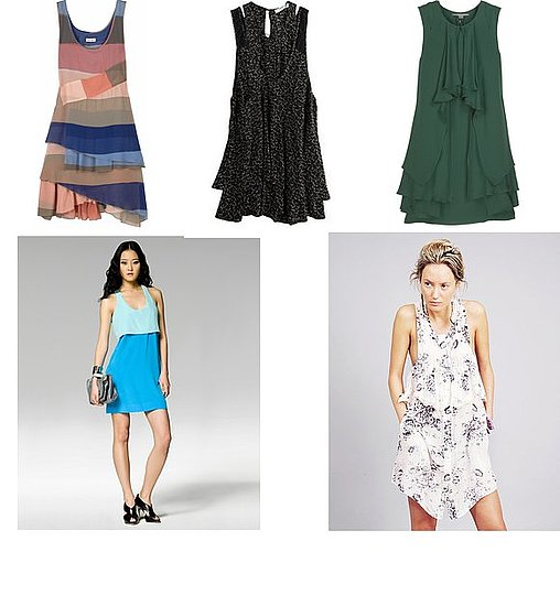 Spring Trend Report: Layered Tank Dresses