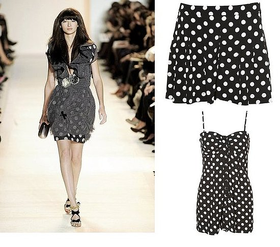 Topshop Indulges In The Polka Dot Trend