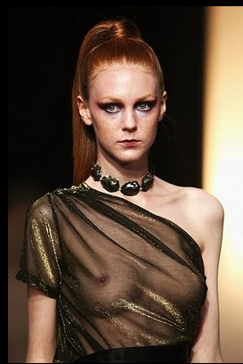 Bare Breasts, Big Tits, Tanned Hides, and Bare Mid Riffs at Australia Fashion Week