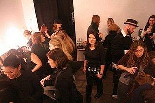 Backstage at Jason Wu Fall 2008