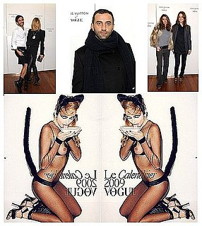 Terry Richardson Exhibition Opening For The 2009 Vogue Calendar
