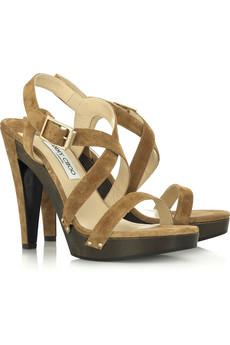 Jimmy Choo Wooden Platform Sandals $780 @ Net-a-Porter