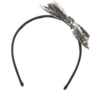 Sequin Bow Headband $24 @ Topshop