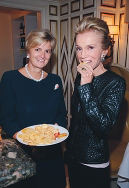 High Tea at Low Tide With Princess Gloria von Thurn und Taxis