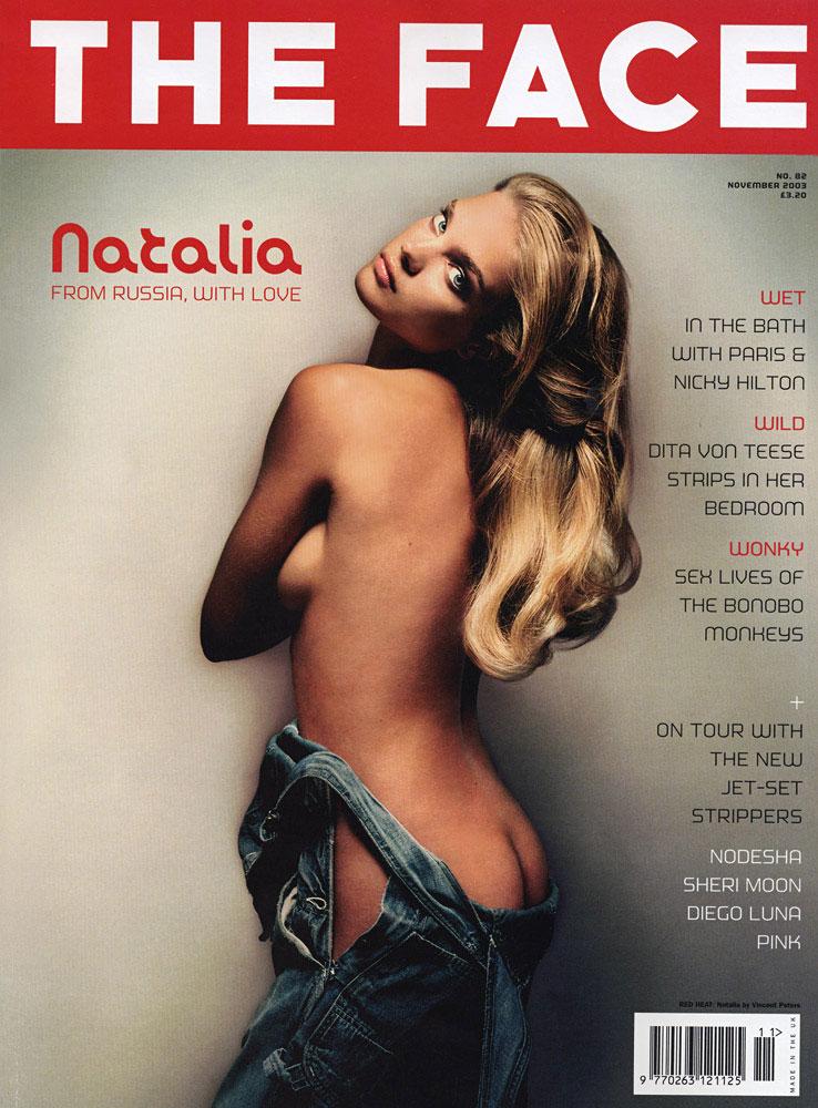 Nov. 2003: Natalia Vodianova