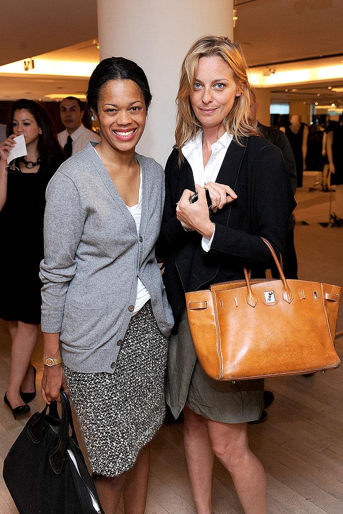 Bonnie Morrison and Vanity Fair's Jessica Diehl