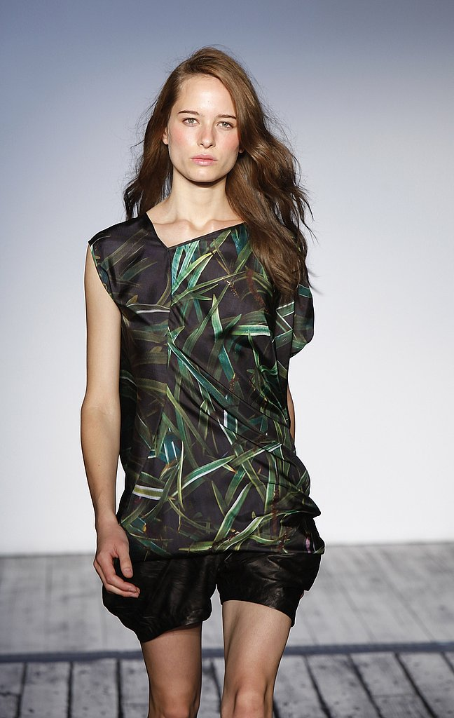 Zero + Maria Cornejo Does Digital Nature for Spring 2010