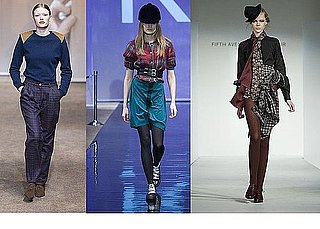 Fall 2009 Stockholm Trend Report: Plaid Happy