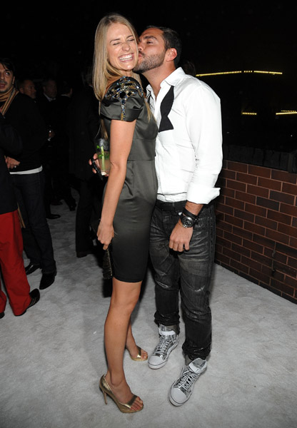 Molly Sims and Lorenzo Martone