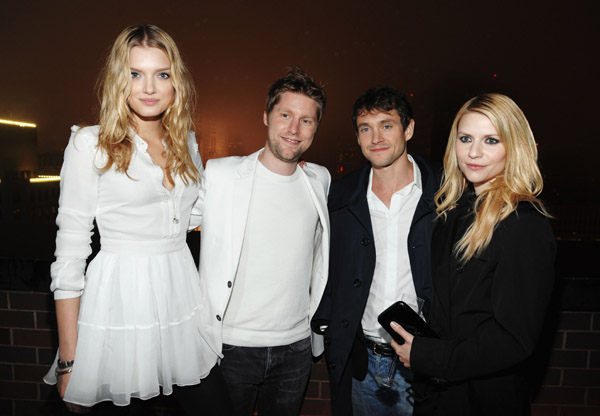 Lily Donaldson, Christopher Bailey, Hugh Dancy, Claire Danes