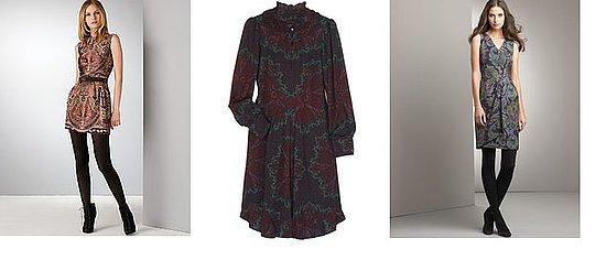 Shopping: Dark Paisley Dresses