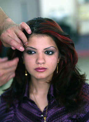 Iraqi Salons Are Back in Business