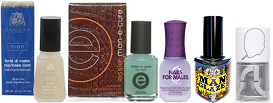 Nail Lacquer Designed For Men