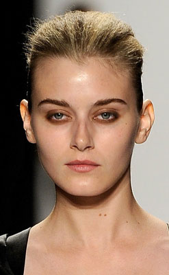 Makeup at Narciso Rodriguez's 2010 Spring New York Fashion Week
