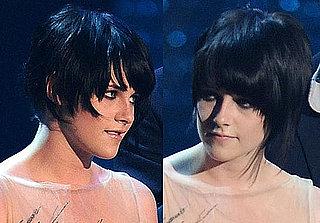Kristen Stewart's Haircut at the 2009 VMAs 2009-09-14 15:38:12