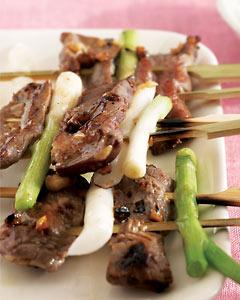 Korean Beef Kebab Recipe