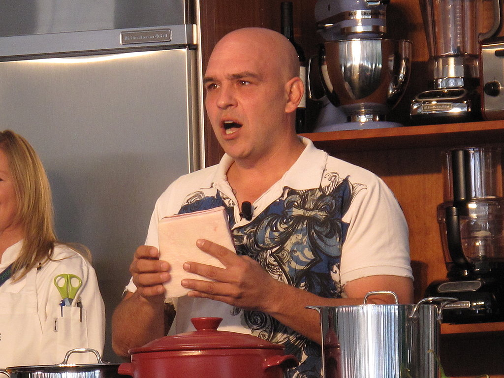 Gallery: Michael Symon Porks Out in His Demonstration