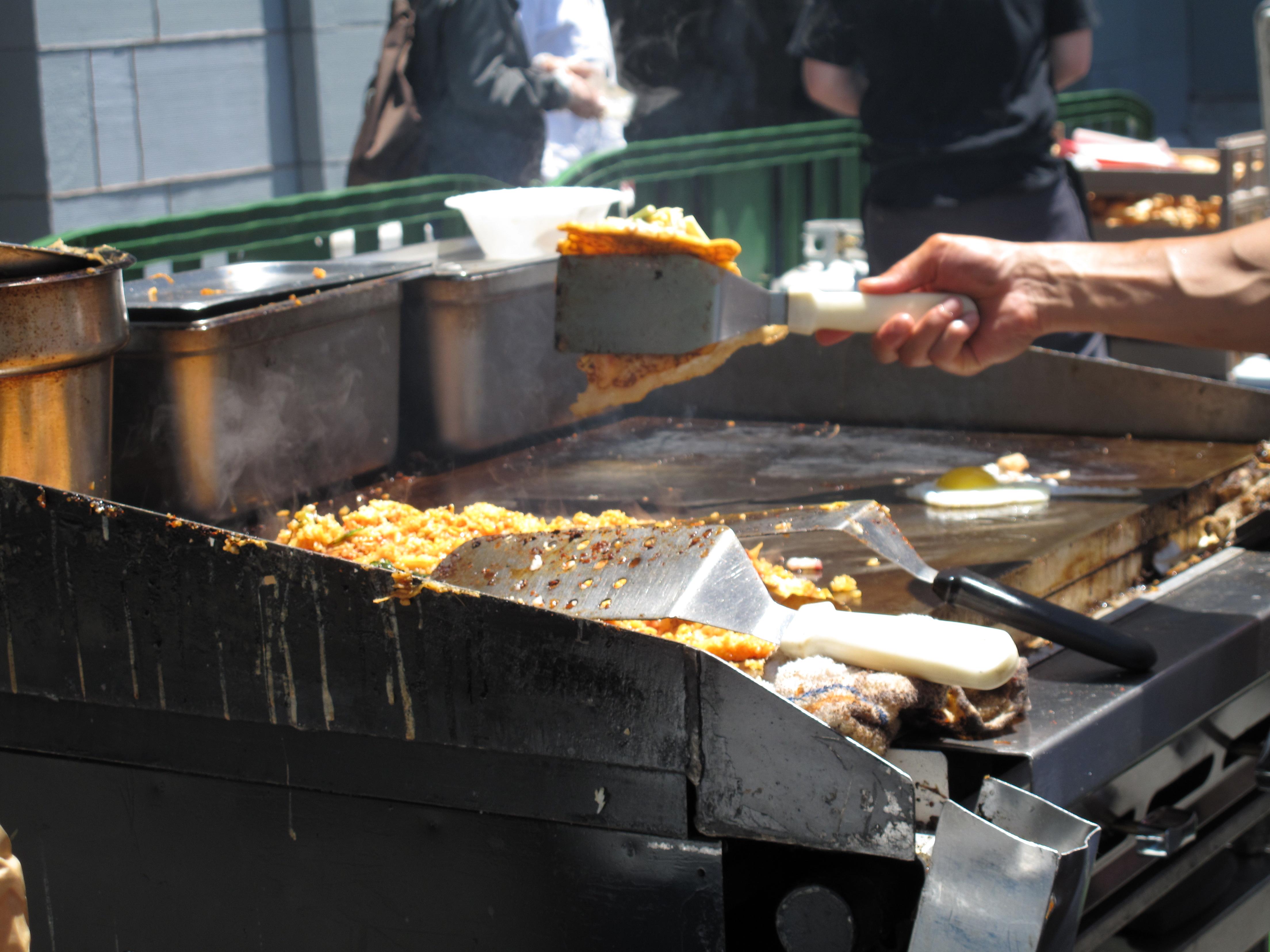 Flipping For Okonomiyaki
