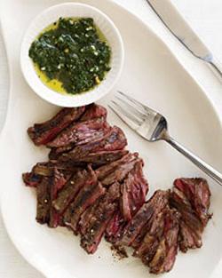 Mark Bittman Recipe For Grilled Skirt Steak With Chimichurri