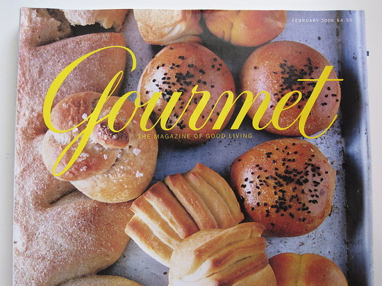 Gourmet Magazine to Fold