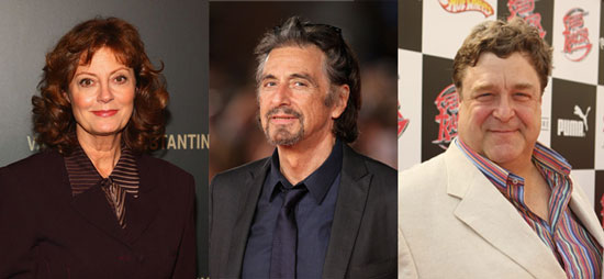 Sarandon, Goodman Join Pacino in HBO's Dr. Kevorkian Movie