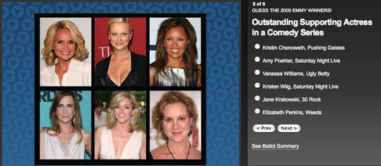 Guess the Emmy Winners and Win $1,000!