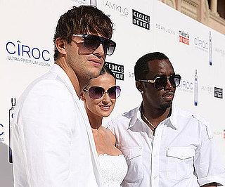 Slide Photo of Demi Moore, Ashton Kutcher and Diddy at Fourth of July Party