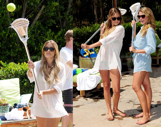 Photos of Lauren Conrad Playing LAX