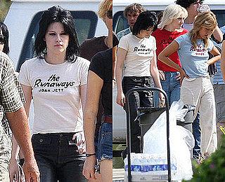 Photos of Kristen and Dakota on Set Over the Weekend