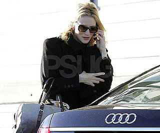 Photo Slide of Cate Blanchett Arriving to the Sydney Theatre Company