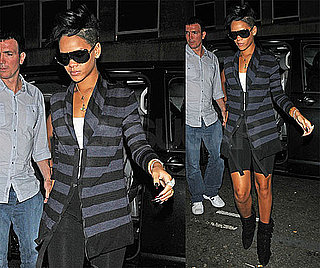 Photos of Rihanna and Jay-Z Partying in London After Chris Brown's Public Apology