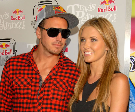 Photo Slide of Audrina Patridge With Boyfriend Corey Bohan at a Red Bull Event in LA