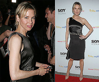 Photos of Renee Zellweger at My One and Only Premiere, Reportedly Keeping Bradley Cooper Relationship Low Profile
