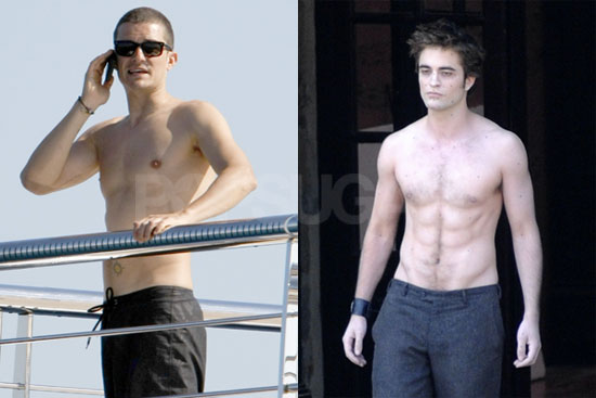 Orlando Bloom vs. Robert Pattinson