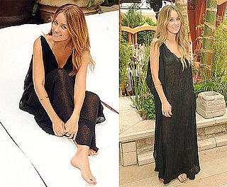 Photos of Lauren Conrad Covering Her Bikini at TAO in Las Vegas
