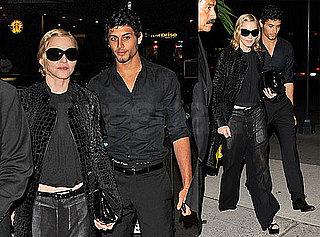 Photos of Madonna and Jesus Luz Seeing Hugh Jackman and Daniel Craig on Broadway