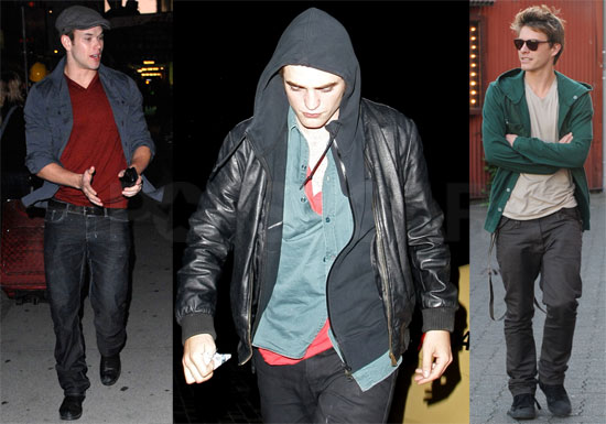 Photos of Robert Pattinson and Eclipse Stars in Vancouver