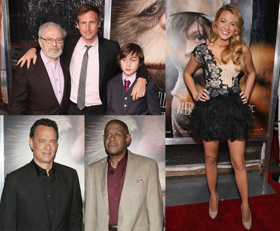 Photos of Maurice Sendak, Max Records, Spike Jonze, Blake Lively, Tom Hanks, And Forest Whitaker at Where The Wild Things Are 2009-10-14 12:30:52