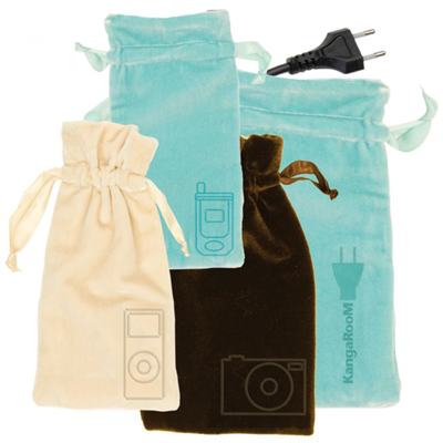Kangaroom Velvet Media Bags Are $20 For Four
