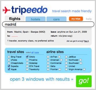 Search For Travel Deals and Share Vacation Info With Friends By Using Tripeedo