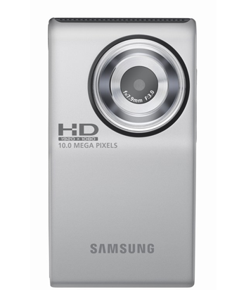 The Samsung HD Pocket Camcorder Competes With the Flip