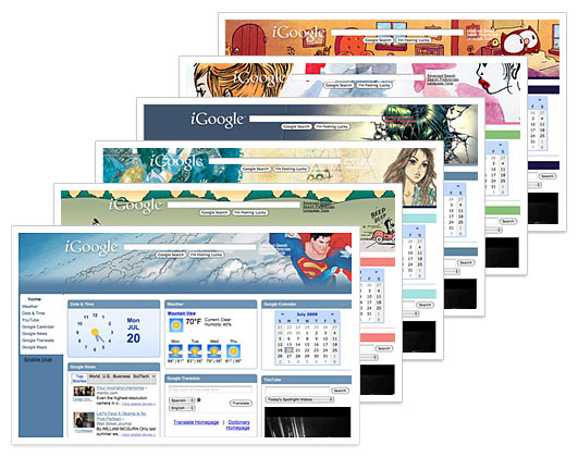 Celebrate Comic-Con With Classic Comic iGoogle Themes