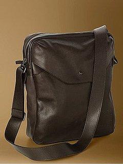 Banana Republic Leather Camera Bag
