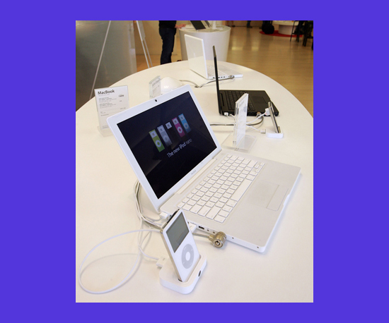 The White MacBook Stays