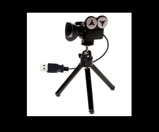 Lights, Webcam, Action! USB