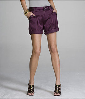 Fab Finger Discount: Express Silk Pleated Shorts